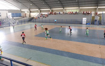Constelação e Tiradentes goleiam no Roraimense de Futsal Sub-12