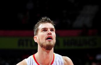 """Há quase 1 ano sem atuar, Splitter diz: """"Se não jogar na NBA, me aposento"""""""
