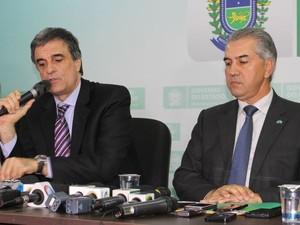 Ministro da Justiça e governador de MS criam comissão para demarcação (Foto: Juliene Katayama/G1 MS)