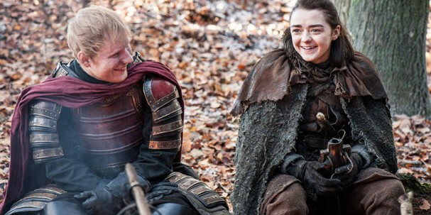 Ed Sheeran faz participação na série (Foto: Reprodução)