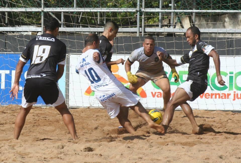 Futebol de Areia no ES (Foto: Divulgação/ TV Gazeta)