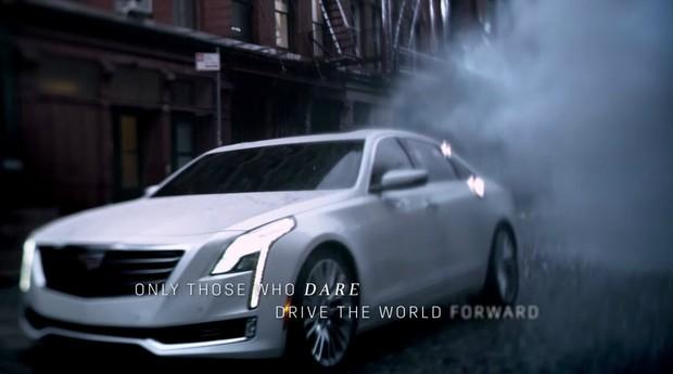 Cadillac CT6 em anúncio do Oscar 2015 (Foto: Reprodução)