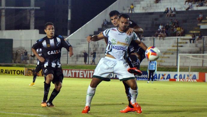 ABC x Luverdense, no Frasqueirão (Foto: Augusto Gomes/GloboEsporte.com)