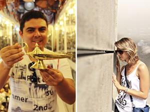 Leonardo e Nathalia já estiveram no Marrocos e na Alemanha (Foto: Divulgação / Prazer Mundo)