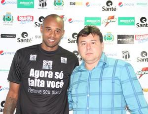 Luizão, Ceará, jogador, zagueiro (Foto: Divulgação/Ceará)
