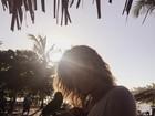 Sasha curte férias na Bahia: 'Me despedindo desse lugar maravilhoso'