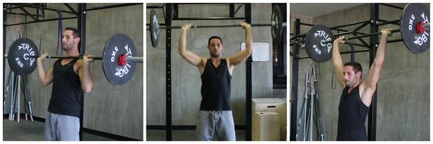 montagem homem peso eu atleta (Foto: Sandro Gama)