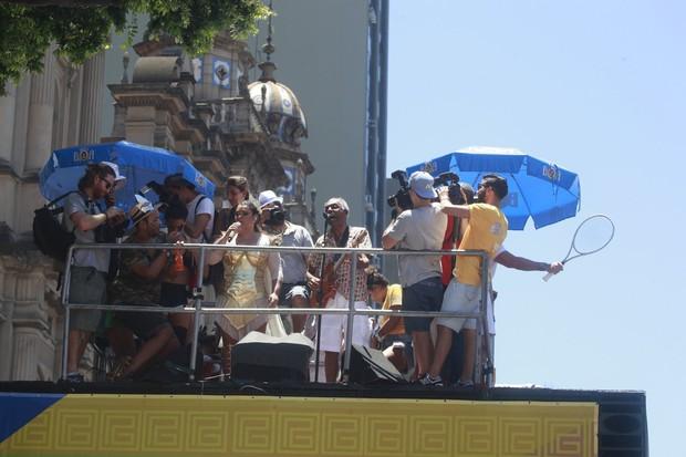 Preta Gil e Gilberto Gil (Foto: Isac Luz / EGO)