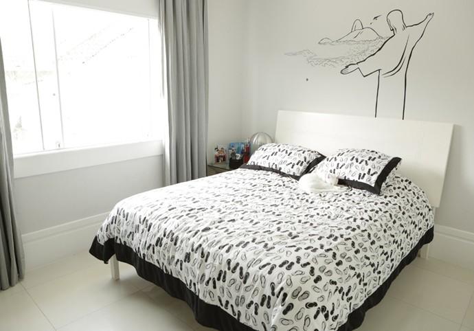 Nicolas Prattes mostra seu quarto no Estrelas (Foto: Felipe Monteira / Gshow)