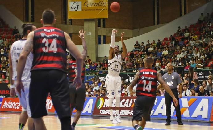 Mogi das Cruzes x Vitória NBB basquete (Foto: Antonio Penedo/Mogi-Helbor)