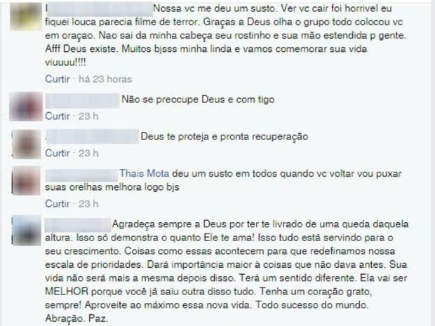 Amigos de jovem que caiu em Ibitipoca falam de acidente no Facebook (Foto: Reprodução/Facebook)