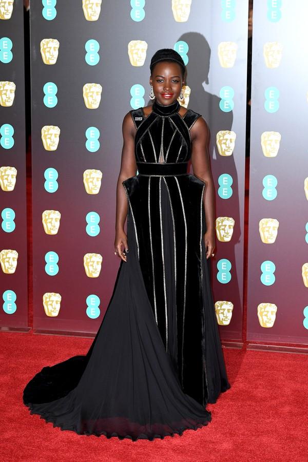 Lupita Nyong'o no BAFTA (Foto: Getty Images)