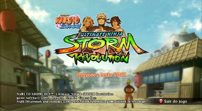 Naruto Shippuden: Ultimate Ninja Storm Revolution (Foto: Reprodução / Dario Coutinho) (Foto: Naruto Shippuden: Ultimate Ninja Storm Revolution (Foto: Reprodução / Dario Coutinho))