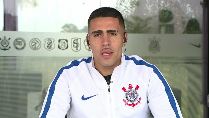 Gabriel, volante do Corinthians (Foto: Reprodução SporTV)