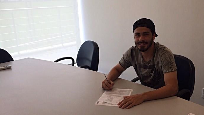 Grêmio Raul contrato (Foto: Fernando Martinez/Divulgação)