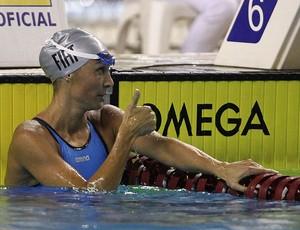Fabiola Molina natação troféu Maria Lenk (Foto: Satiro Sodré / AGIF)