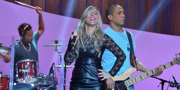 """Marcela Martinez canta dois clássicos da música axé, """"Madagascar Olodum"""" e """"Requebra"""" (Foto: Frederico Rozario/Globo)"""
