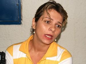 Hornella Giurizatto Libardi é acusada de planejar morte do marido. (Foto: Arquivo/Gazetaweb)