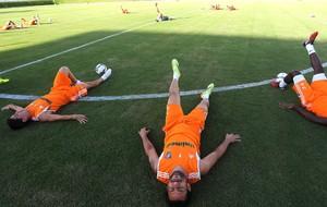 Fred no treino do Fluminense em Natal (Foto: Nelson Perez / Site Oficial do Fluminense)