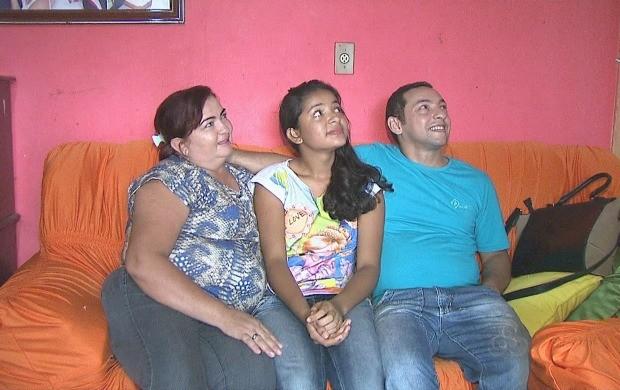 Para Mirna, filha adotiva de Marlene, a mãe é a melhor amiga  (Foto: Bom Dia Amazônia)