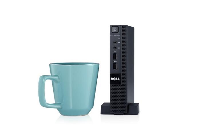 Novo desktop da Dell é muito pequeno (Foto: Divulgação) (Foto: Novo desktop da Dell é muito pequeno (Foto: Divulgação))