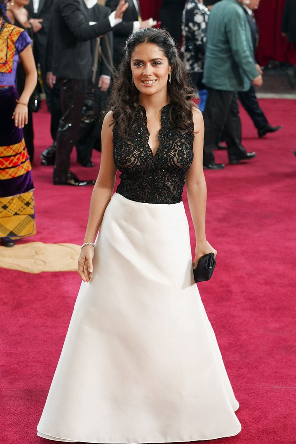 Salma Hayek no Oscar de 2003 (Foto: Getty Images)
