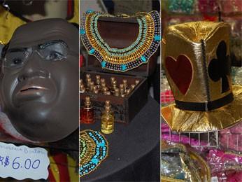 Adereços para brincar o Carnaval em Pernambuco. (Foto: Priscila Miranda / G1)