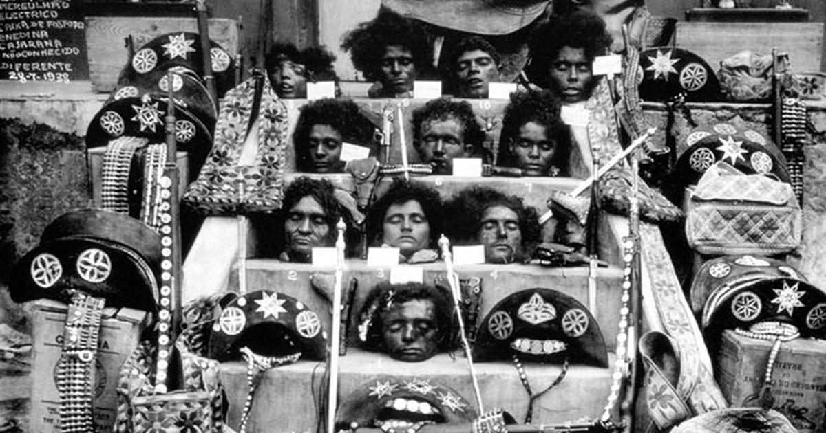 Fotografia histórica e cruel marca 75 anos da morte de Lampião