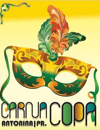 Carna Copa Antonina Carnaval 2014 (Foto: Divulgação)