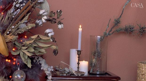 Um Natal diferente: Michell Lott mostra como deixar a casa inteira no clima usando elementos fáceis (Foto: Vivi Spaco)