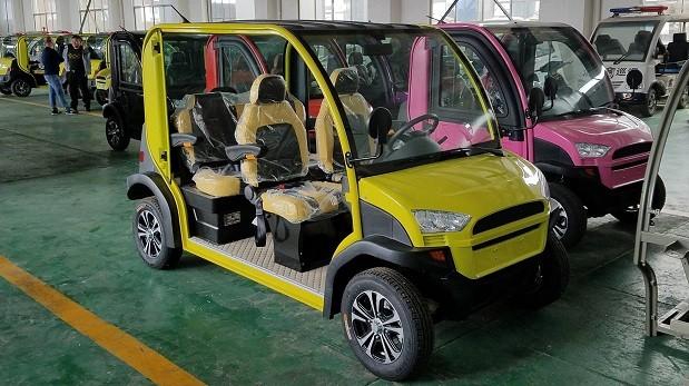 e.coTECH4 e ecoTECH2, carros da Hitech Electric (Foto: Divulgação)