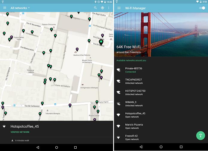 wiMAN Free WiFi é um app para descobrir rede sem fio próximas ao usuário (Foto: Divulgação)
