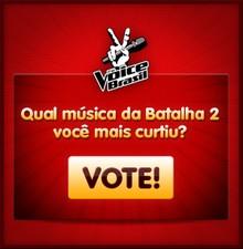 Batalhas 2 enquete (Foto: The Voice Brasil/TV Globo)