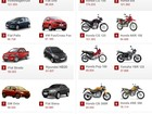 Veja 10 carros e 10 motos mais vendidos no 1º semestre de 2013