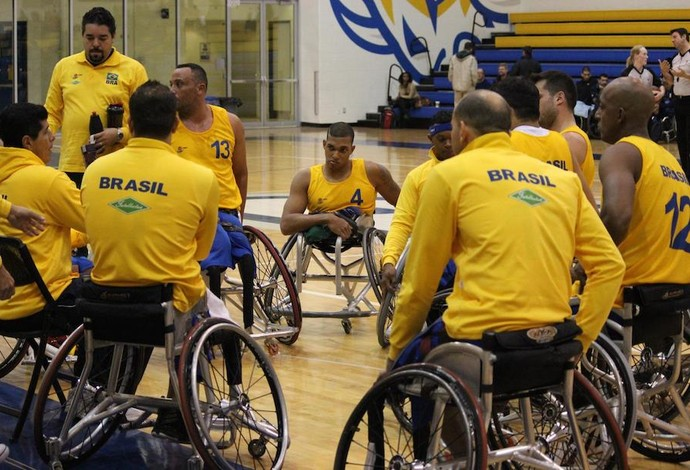basquete em cadeira de rodas seleção brasileira (Foto: Divulgação CBBC)