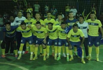 Equipe da Pulga, campeã da Copa da Juventude de Futsal em Santarém (Foto: Divulgação/Semjel)