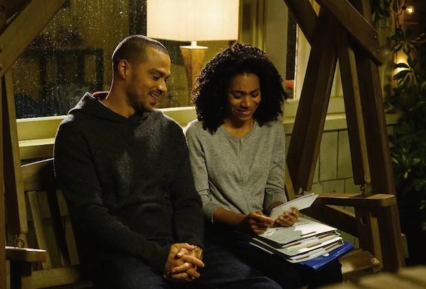 Maggie (Kelly McCreary) e Jackson (Jesse Williams)  (Foto: Reprodução)