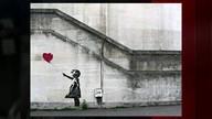 Grafite de Banksy é a obra de arte preferida dos britânicos