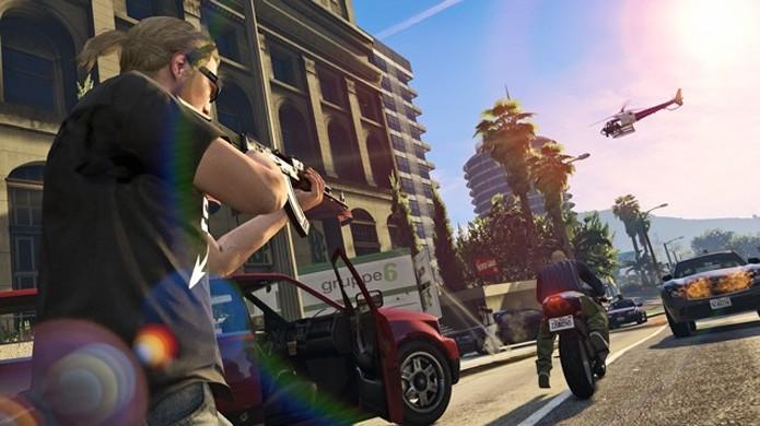 Tiroteios de GTA Online deverão ficar ainda mais intensos com quase o dobro de jogadores (Foto: VG247)