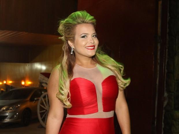 Geisy Arruda em festa em Mauá, São Paulo (Foto: Caio Duran e Thiago Duran/ Ag. News)