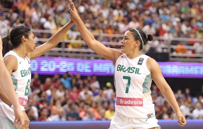 Brasil Sul-Americano feminino de basquete Pamira Iziane (Foto: Divulgação/Fiba America)