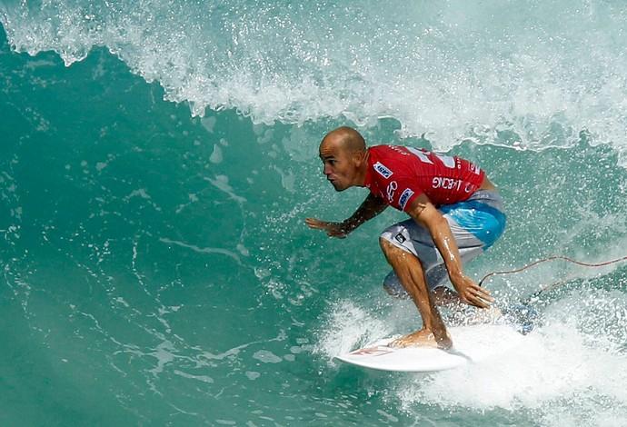 surfe kelly slater praia da barra wct rio (Foto: Wagner Meier / Agência Estado)