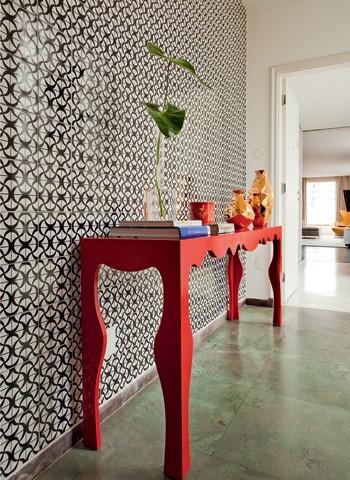 Prévia com azulejos  (Foto: Edu Castello)