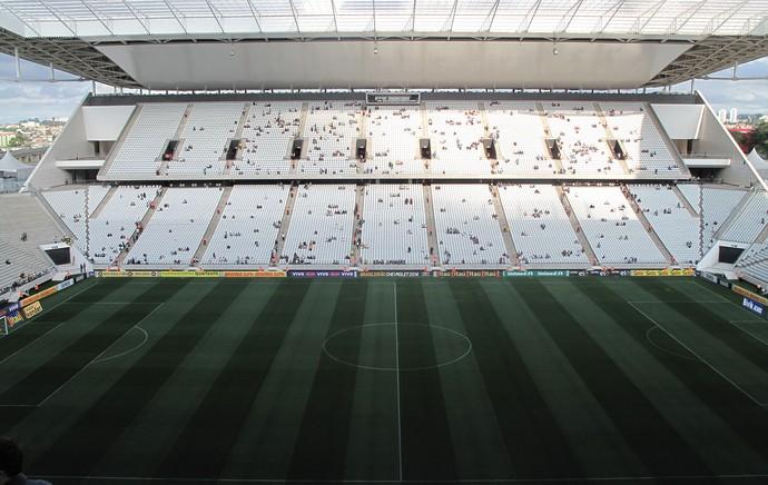Arena Corinthians x Santos (Foto: Rodrigo Faber)