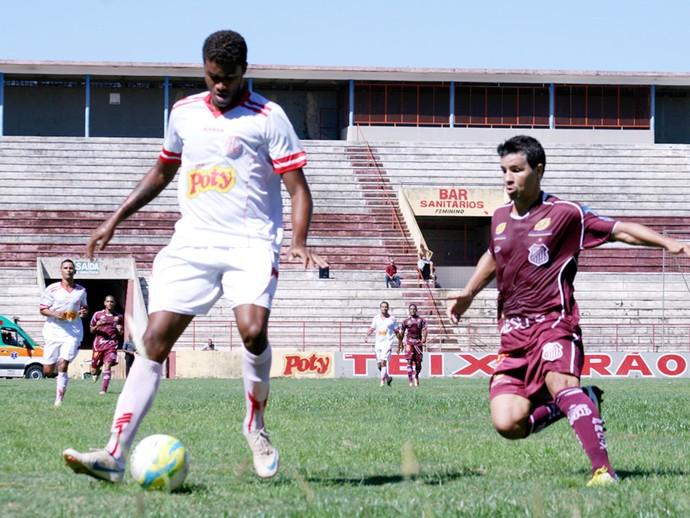 América-SP empatou com o Sertãozinho em partida assistida por apenas 108 pagantes no Teixeirão (Foto:  Oscar Oliveira/Site Amadorzao)