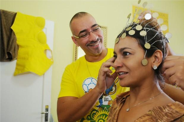 Dira Paes (Foto: Diego Mendes / Divulgação)