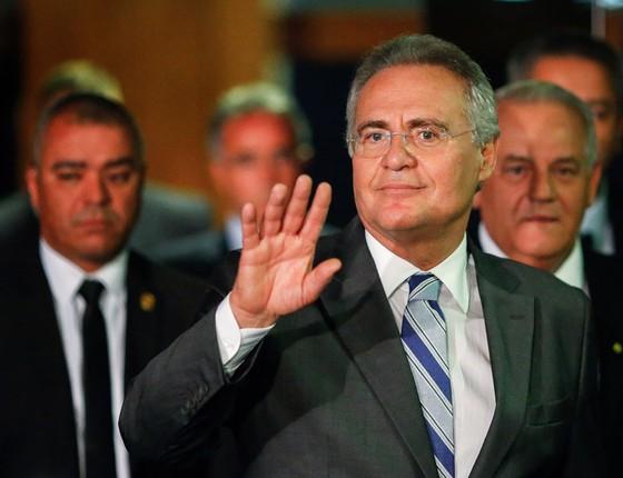 Senador Renan Calheiros  (Foto: Sérgio Lima/ÉPOCA)