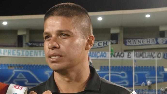 Árbitro Francisco Carlos Nascimento (Foto: Caio Lorena / Globoesporte.com)