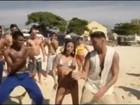 Ricky Martin não resiste à febre baiana e dança 'Lepo Lepo' no Rio