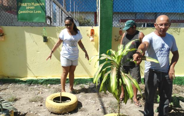 Ação tem o apoio do Consciência Limpa da Rede Amazônica (Foto: Onofre Martins/Rede Amazônica)